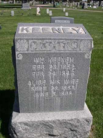 KEENEY, ALICE - Dawes County, Nebraska | ALICE KEENEY - Nebraska Gravestone Photos