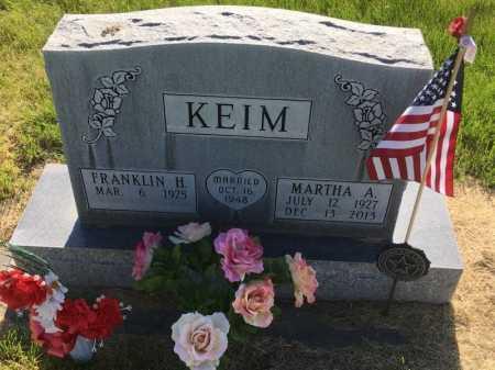 KEIM, FRANKLIN H. - Dawes County, Nebraska | FRANKLIN H. KEIM - Nebraska Gravestone Photos