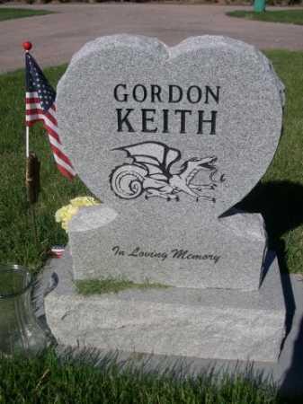 KEITH, GORDON - Dawes County, Nebraska   GORDON KEITH - Nebraska Gravestone Photos