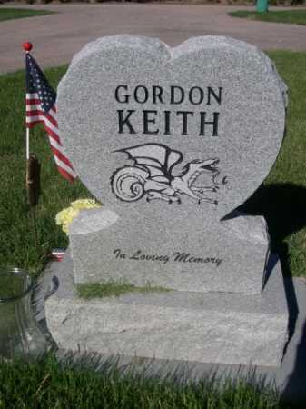 KEITH, GORDON - Dawes County, Nebraska | GORDON KEITH - Nebraska Gravestone Photos