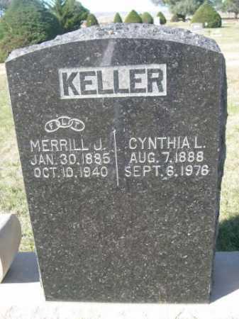 KELLER, MERRILL J. - Dawes County, Nebraska | MERRILL J. KELLER - Nebraska Gravestone Photos