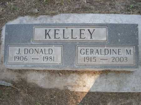 KELLEY, GERALDINE M. - Dawes County, Nebraska | GERALDINE M. KELLEY - Nebraska Gravestone Photos