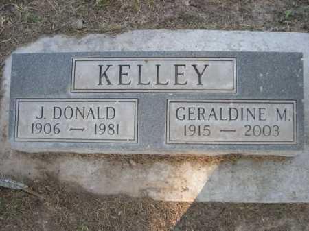KELLEY, J. DONALD - Dawes County, Nebraska | J. DONALD KELLEY - Nebraska Gravestone Photos