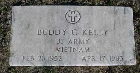 KELLY, BUDDY G. - Dawes County, Nebraska   BUDDY G. KELLY - Nebraska Gravestone Photos