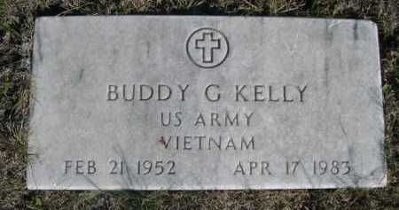 KELLY, BUDDY G. - Dawes County, Nebraska | BUDDY G. KELLY - Nebraska Gravestone Photos