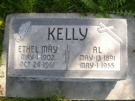 KELLY, AL - Dawes County, Nebraska | AL KELLY - Nebraska Gravestone Photos