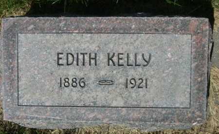 KELLY, EDITH - Dawes County, Nebraska | EDITH KELLY - Nebraska Gravestone Photos