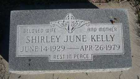 KELLY, SHIRLEY JUNE - Dawes County, Nebraska | SHIRLEY JUNE KELLY - Nebraska Gravestone Photos