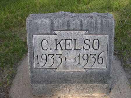 KELSO, C - Dawes County, Nebraska   C KELSO - Nebraska Gravestone Photos