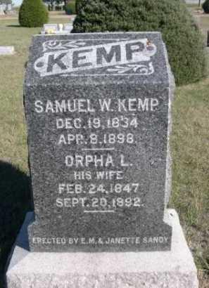KEMP, SAMUEL W. - Dawes County, Nebraska | SAMUEL W. KEMP - Nebraska Gravestone Photos