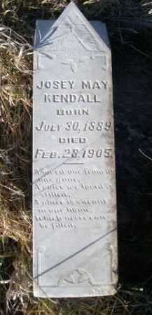 KENDALL, JOSEY MAY - Dawes County, Nebraska | JOSEY MAY KENDALL - Nebraska Gravestone Photos