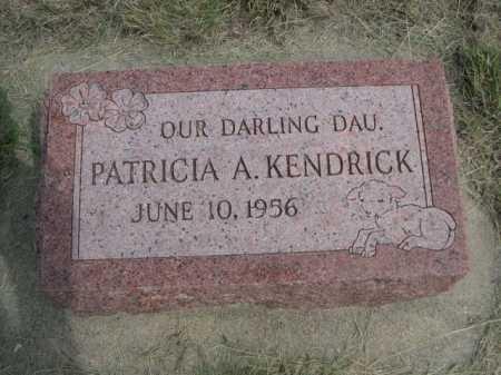 KENDRICK, PATRICIA A. - Dawes County, Nebraska | PATRICIA A. KENDRICK - Nebraska Gravestone Photos