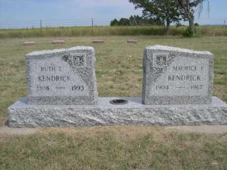 KENDRICK, RUTH I. - Dawes County, Nebraska | RUTH I. KENDRICK - Nebraska Gravestone Photos