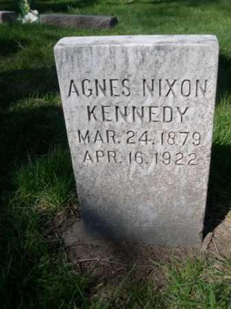 NIXON KENNEDY, AGNES - Dawes County, Nebraska | AGNES NIXON KENNEDY - Nebraska Gravestone Photos