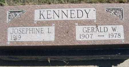 KENNEDY, GERALD W. - Dawes County, Nebraska | GERALD W. KENNEDY - Nebraska Gravestone Photos