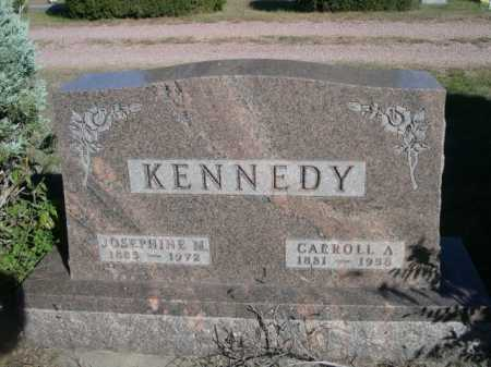 KENNEDY, CARROLL A. - Dawes County, Nebraska | CARROLL A. KENNEDY - Nebraska Gravestone Photos