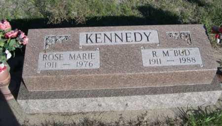 "KENNEDY, R. M. ""BUD"" - Dawes County, Nebraska | R. M. ""BUD"" KENNEDY - Nebraska Gravestone Photos"