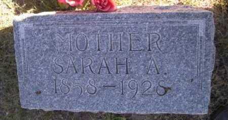 KENNEDY, SARAH A. - Dawes County, Nebraska | SARAH A. KENNEDY - Nebraska Gravestone Photos