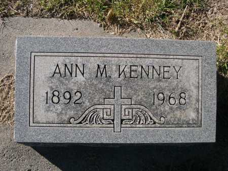 KENNEY, ANN M. - Dawes County, Nebraska | ANN M. KENNEY - Nebraska Gravestone Photos
