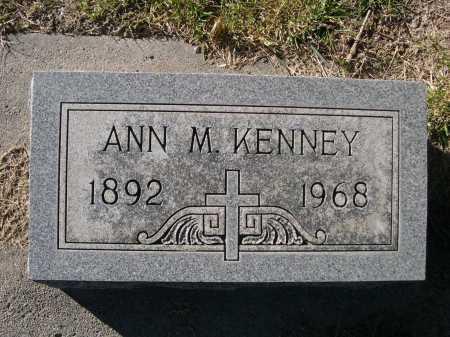KENNEY, ANN M. - Dawes County, Nebraska   ANN M. KENNEY - Nebraska Gravestone Photos