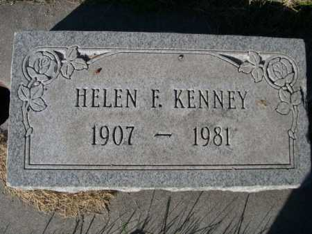KENNEY, HELEN F. - Dawes County, Nebraska | HELEN F. KENNEY - Nebraska Gravestone Photos