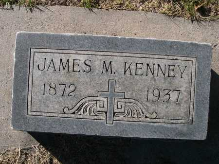 KENNEY, JAMES M. - Dawes County, Nebraska | JAMES M. KENNEY - Nebraska Gravestone Photos