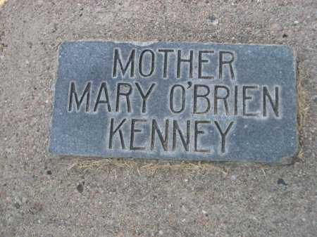 KENNEY, MARY O'BRIEN - Dawes County, Nebraska | MARY O'BRIEN KENNEY - Nebraska Gravestone Photos