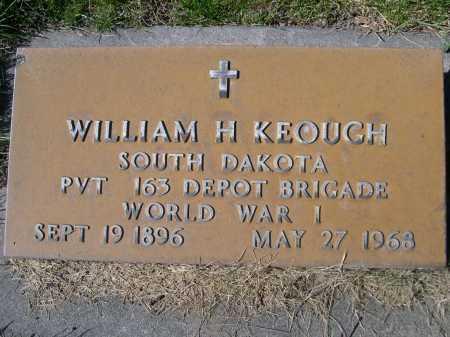 KEOUGH, WILLIAM - Dawes County, Nebraska | WILLIAM KEOUGH - Nebraska Gravestone Photos