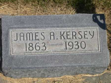 KERSEY, JAMES A. - Dawes County, Nebraska | JAMES A. KERSEY - Nebraska Gravestone Photos