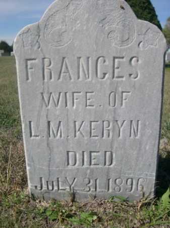 KERYN, FRANCES - Dawes County, Nebraska | FRANCES KERYN - Nebraska Gravestone Photos