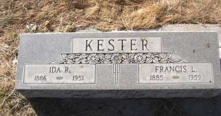 KESTER, IDA R. - Dawes County, Nebraska | IDA R. KESTER - Nebraska Gravestone Photos
