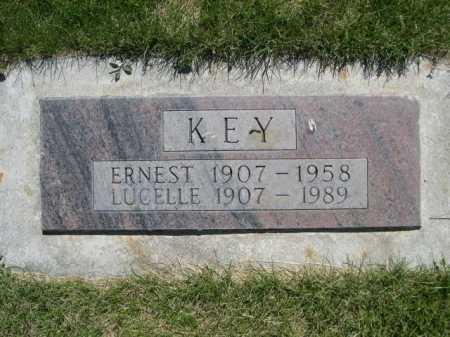 KEY, ERNEST - Dawes County, Nebraska | ERNEST KEY - Nebraska Gravestone Photos