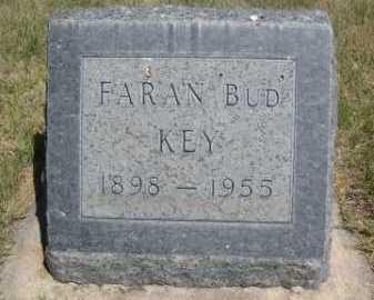 KEY, FARAN 'BUD' - Dawes County, Nebraska   FARAN 'BUD' KEY - Nebraska Gravestone Photos