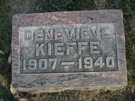 KIEFFE, GENEVIEVE - Dawes County, Nebraska | GENEVIEVE KIEFFE - Nebraska Gravestone Photos