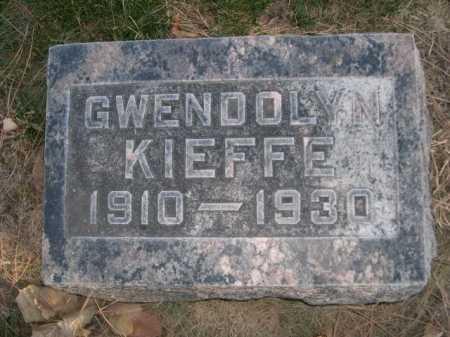 KIEFFE, GWENDOLYN - Dawes County, Nebraska | GWENDOLYN KIEFFE - Nebraska Gravestone Photos