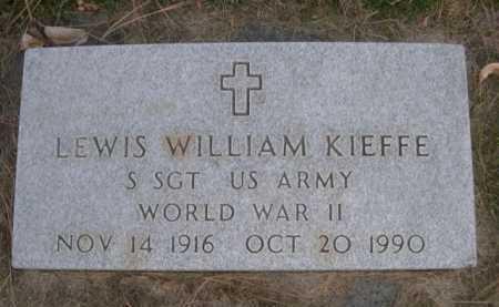 KIEFFE, LEWIS WILLIAM - Dawes County, Nebraska | LEWIS WILLIAM KIEFFE - Nebraska Gravestone Photos