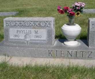 KIENITZ, PHYLLIS M. - Dawes County, Nebraska | PHYLLIS M. KIENITZ - Nebraska Gravestone Photos