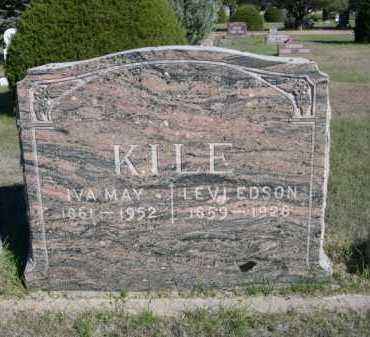 KILE, LEVI EDSON - Dawes County, Nebraska | LEVI EDSON KILE - Nebraska Gravestone Photos
