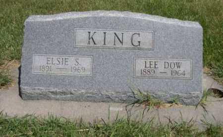 KING, LEE DOW - Dawes County, Nebraska | LEE DOW KING - Nebraska Gravestone Photos