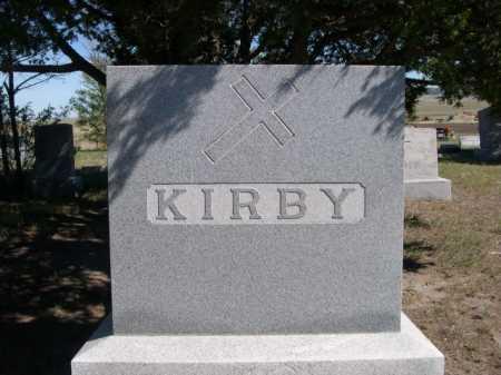 KIRBY, FAMILY - Dawes County, Nebraska | FAMILY KIRBY - Nebraska Gravestone Photos