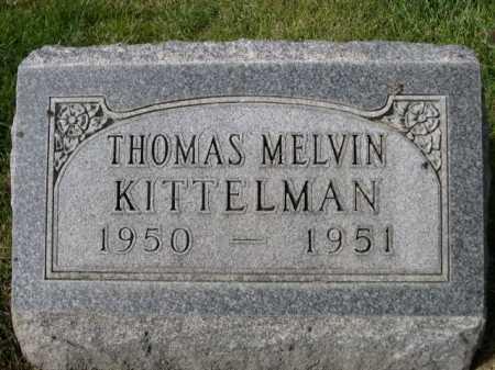 KITTELMAN, THOMAS MELVIN - Dawes County, Nebraska   THOMAS MELVIN KITTELMAN - Nebraska Gravestone Photos
