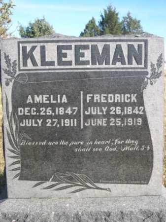KLEEMAN, FREDRICK - Dawes County, Nebraska | FREDRICK KLEEMAN - Nebraska Gravestone Photos