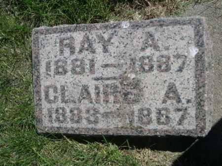 KLINGAMAN, RAY A. - Dawes County, Nebraska | RAY A. KLINGAMAN - Nebraska Gravestone Photos