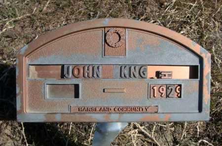 KNG. . . H, JOHN - Dawes County, Nebraska   JOHN KNG. . . H - Nebraska Gravestone Photos