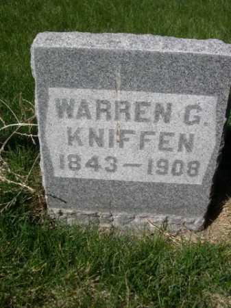 KNIFFEN, WARREN C. - Dawes County, Nebraska | WARREN C. KNIFFEN - Nebraska Gravestone Photos