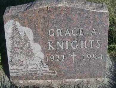 KNIGHTS, GRACE A. - Dawes County, Nebraska | GRACE A. KNIGHTS - Nebraska Gravestone Photos