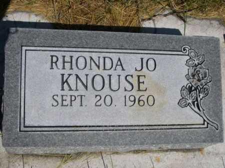 KNOUSE, RHONDA JO - Dawes County, Nebraska   RHONDA JO KNOUSE - Nebraska Gravestone Photos