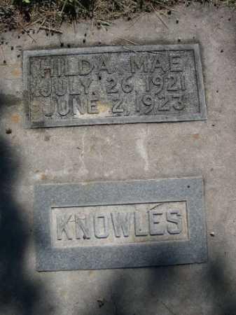 KNOWLES, HILDA MAE - Dawes County, Nebraska | HILDA MAE KNOWLES - Nebraska Gravestone Photos