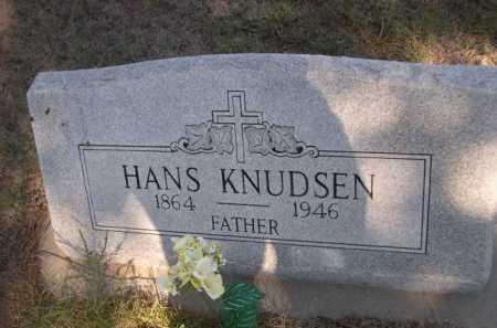 KNUDSEN, HANS - Dawes County, Nebraska | HANS KNUDSEN - Nebraska Gravestone Photos