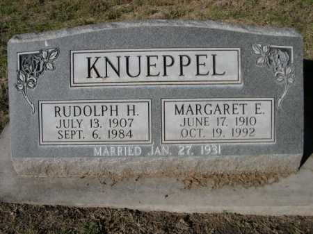 KNUEPPEL, MARGARET E. - Dawes County, Nebraska | MARGARET E. KNUEPPEL - Nebraska Gravestone Photos